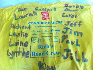 T-Shirt with Names